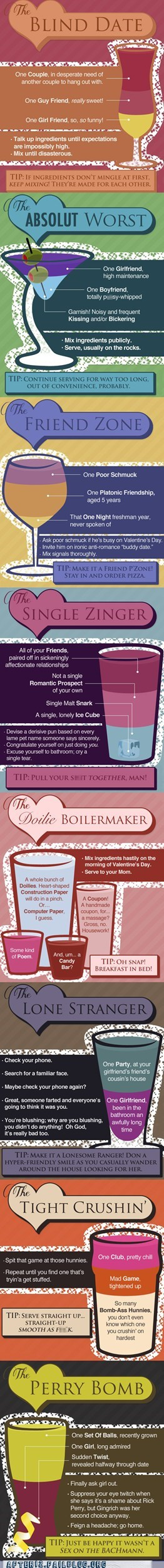 Drink Your Valentine's Day Away!
