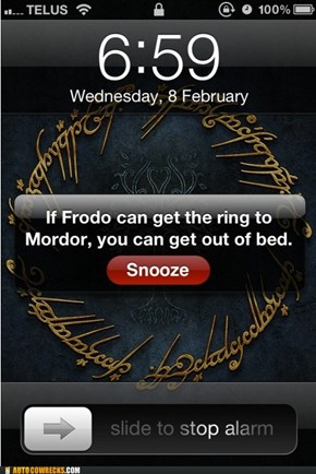 One Does Not Simply Get Out of Bed