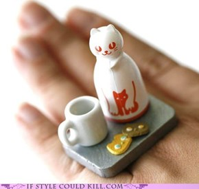 Ring of the Day: Kitty and Tea