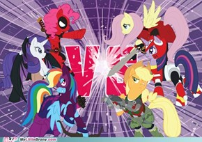 Pony Marvel Vs. Capcom 3