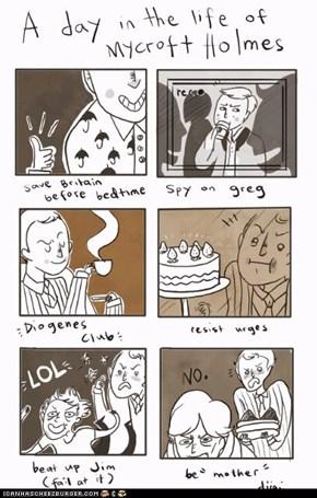 Mycroft's Day