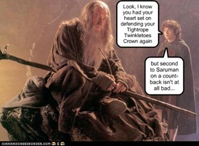 *sigh*  If only it wasn't Saruman...!