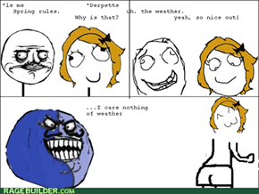 Rage Comics: Left My Coat at Home