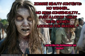 Zombie Beauty Contests