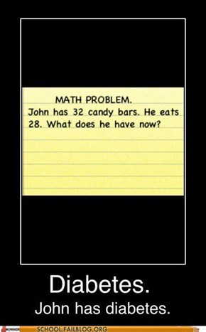 School of Fail: Y U No Eat Healthier Snacks, John!