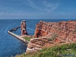 Island in the North Sea, Helgoland, Germany