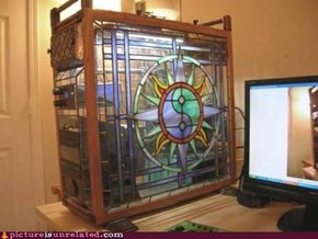 Stained Glass Case Mod