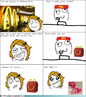 McDonald's brings smiles!
