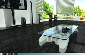 PS3 Controller Coffee Table