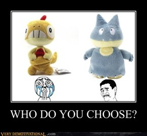 WHO DO YOU CHOOSE?