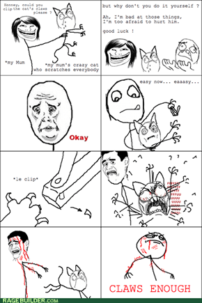 Rage Comics: He Needs Those for Self Defense