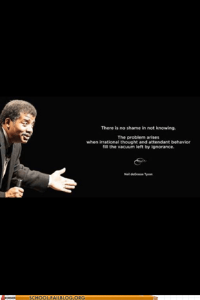 Neil deGrasse Tyson Drops Some Knowledge For You