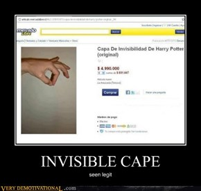 INVISIBLE CAPE