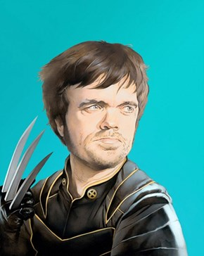 Peter Dinklage as Wolverine of the Day