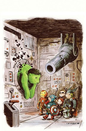 Avengers Meet Winnie the Pooh of the Day