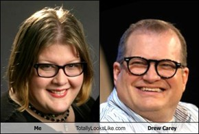 Me Totally Looks Like Drew Carey