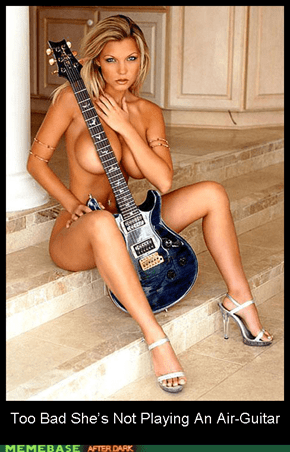 Sexy Sunday: Air Guitar