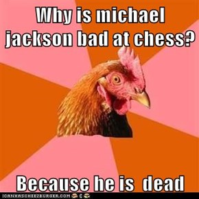 Animal Memes: Anti-Joke Chicken: He's Bad, He's Bad, You Know It