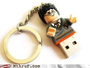 Harry Potter USB Keychains Are For Wizards