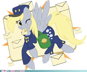 Derpy is Mailiəst Pony.      (Wut?)