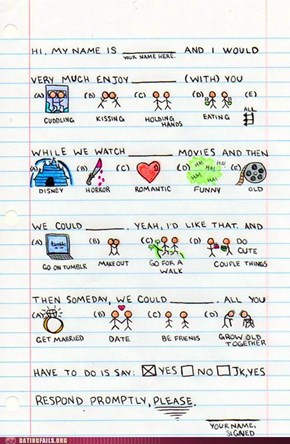 A Love Letter Told in Pictures
