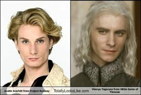Austin Scarlett from Project Runway Totally Looks Like Viserys Tagaryen from HBOs Game of Thrones by