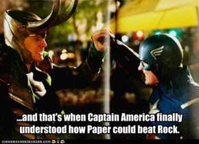 Rock, Paper, Scissors: Superhero Edition