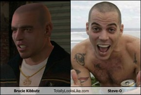 Brucie Kibbutz Totally Looks Like Steve-O