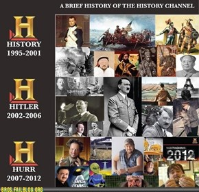 The History Channel Is Now the Bro-story Channel