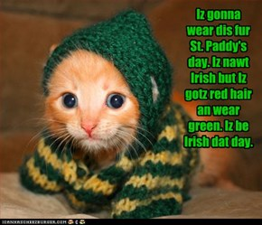 Everybody Is Irish On That Day