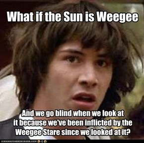 Never looking at the sun again