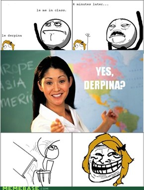 Rage Comics: Y U No Call on Me?