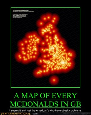 A MAP OF EVERY MCDONALDS IN GB
