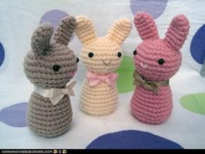 Bunny Stuffs Extravaganzafest: Amigurumi Plushiness