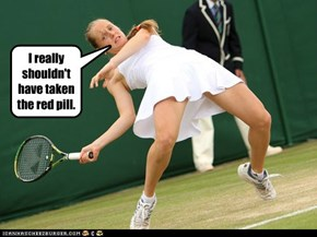 Anyone for tennis in the Matrix?