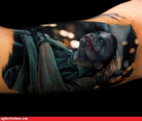 Tattoo WIN: Why So Serious?