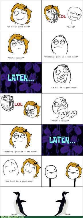Awkward Mood
