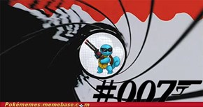 Why Squirtle is #007