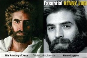 This Painting of Jesus Totally Looks Like Kenny Loggins