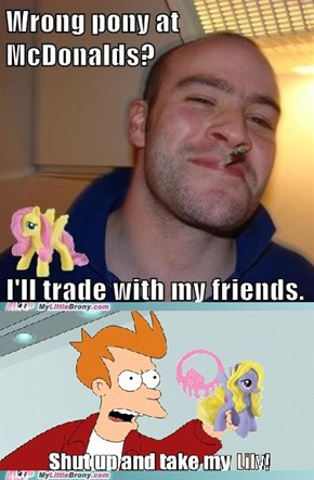 I still don't understand why you wouldn't want Fluttershy...