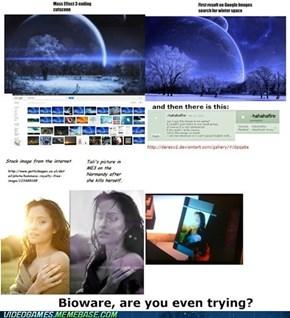 Bioware's Stock Images