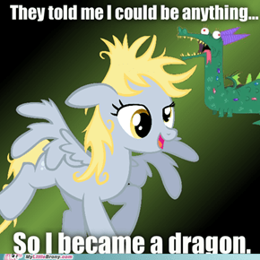 Derpy the Magic Dragon