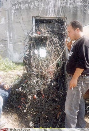 A Rat's Nest Of Wires