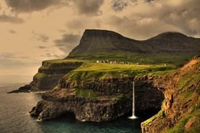 Gásadalur, Vágar, Faroe Islands