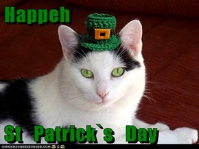 Happeh  St   Patrick`s   Day