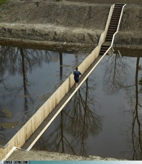 Moses Bridge, Halsteren, The Netherlands