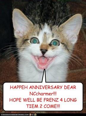 Woohoo!! One Year!!!