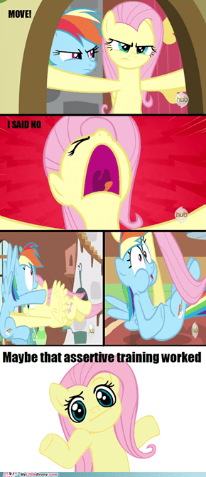Maybe Fluttershy Should Have Paid