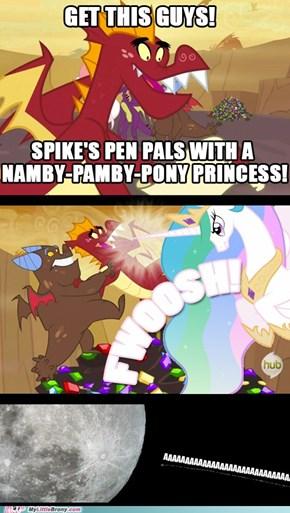 Namby-pamby this!