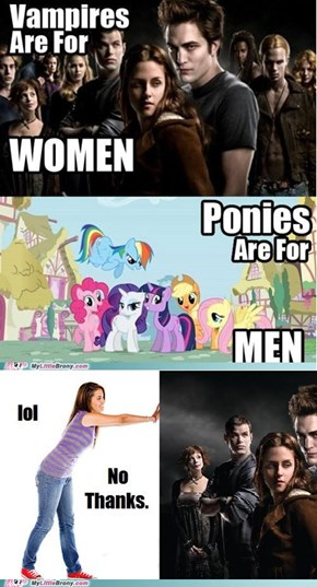 I'll Stick With Ponies, Thanks